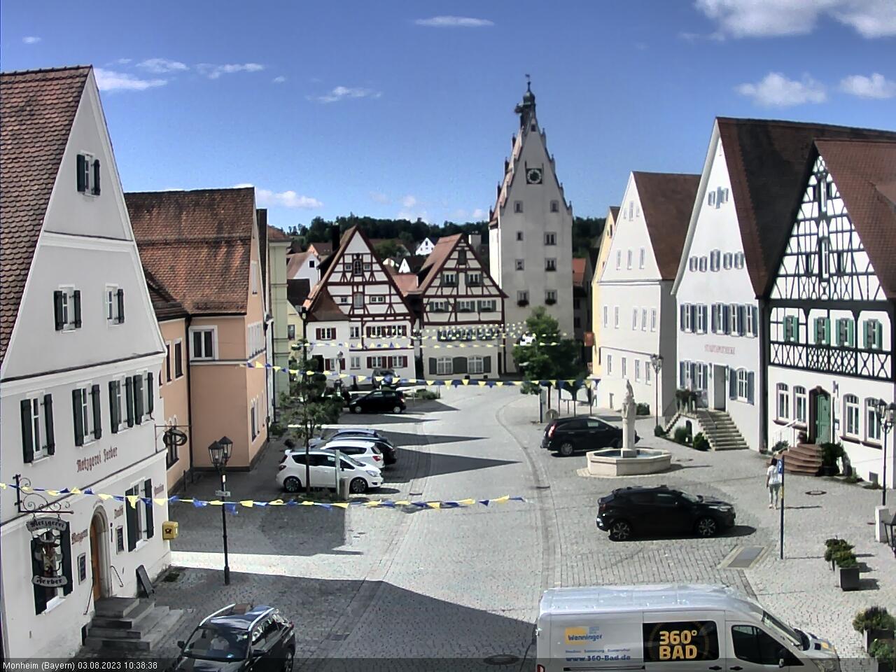 Monheim (Bavaria) Town Center, Marktplatz